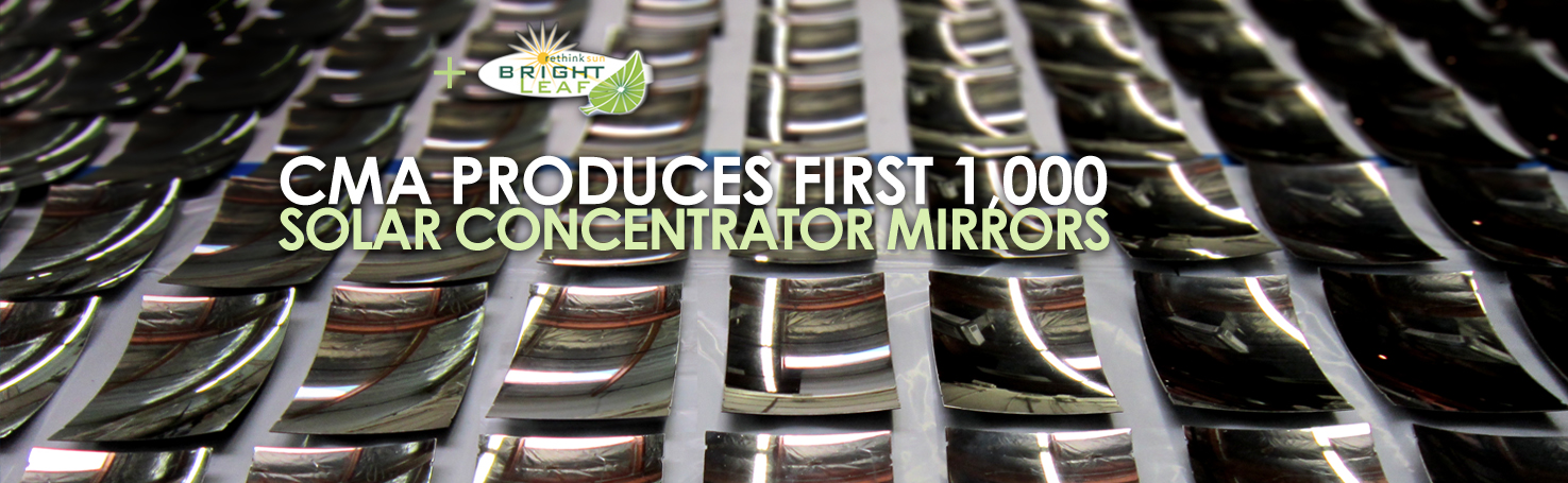 Composite Mirror Applications Manufactures First 1,000 Off-Axis Mirrors