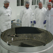 Composite Mirror Applications Launches Large Optics on Space Shuttle Endeavour