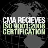 CMA Receives ISO 9001:2008 Certification